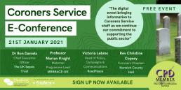 Coroners Service E-Con 2021 - Promo 2